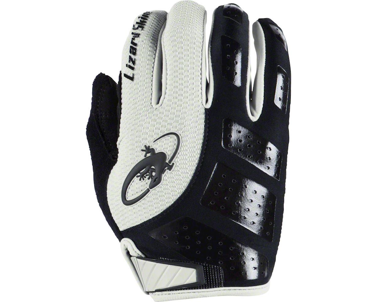 Lizard Skins Monitor SL Full Finger Gloves (Jet Black/White) (S)