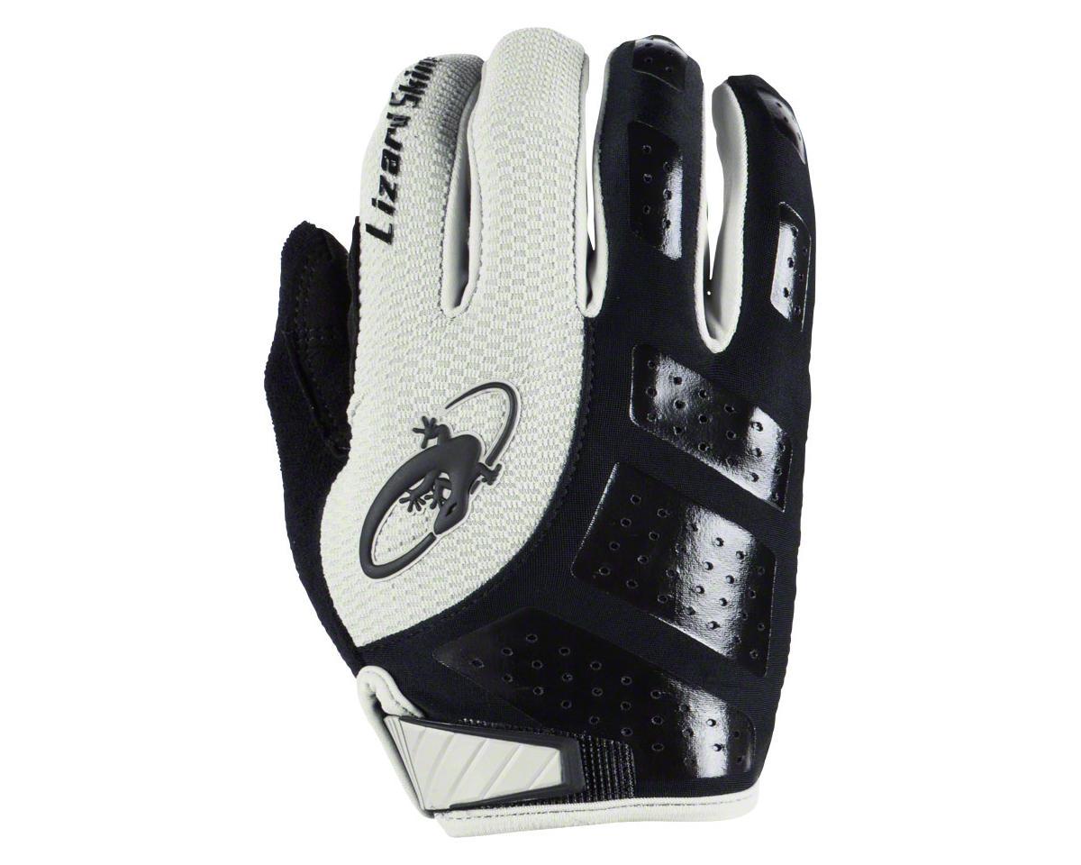 Lizard Skins Monitor SL Gel Full Finger Gloves (Black/White) (S)