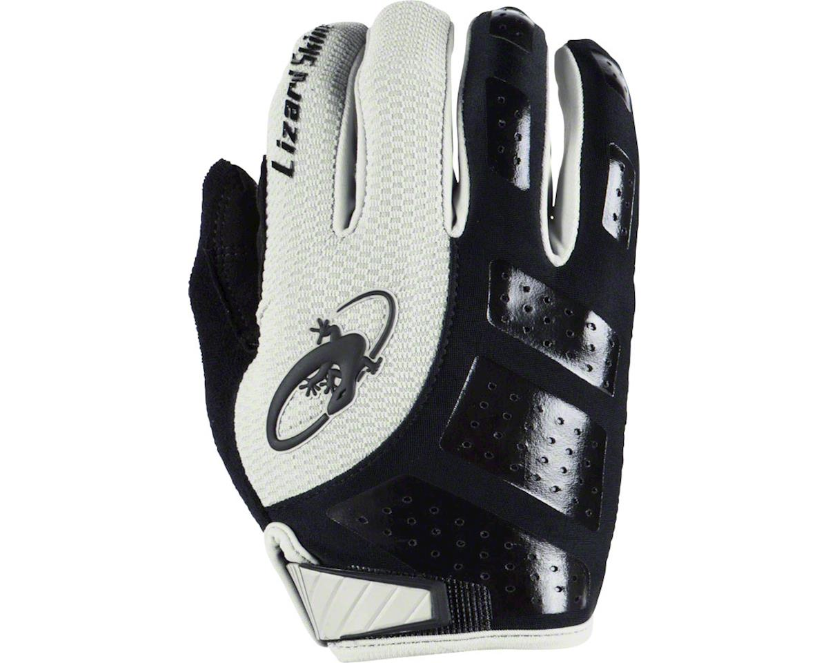 Lizard Skins Monitor SL Gel Full Finger Gloves (Black/White) (XL)