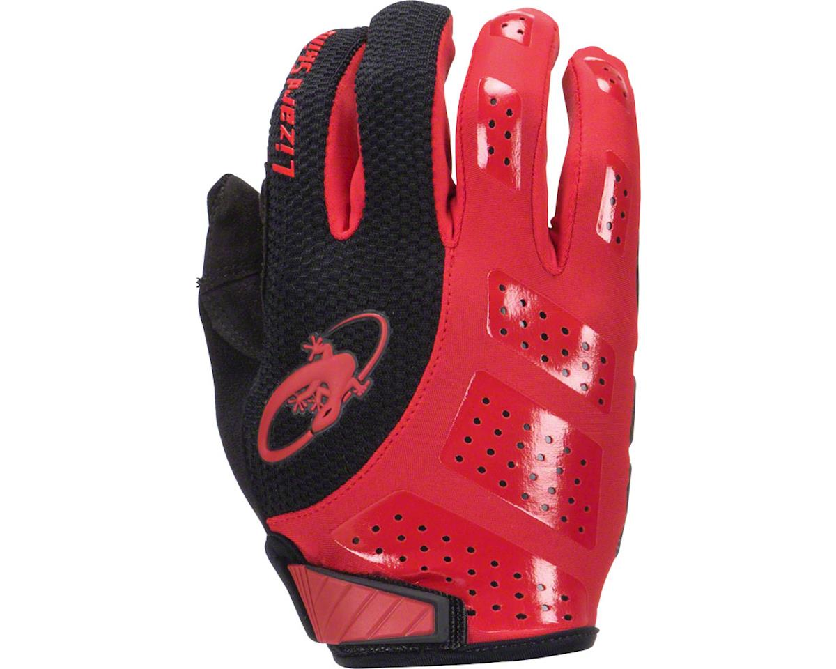 Lizard Skins Monitor SL Gel Full Finger Gloves (Red/Black) (M)