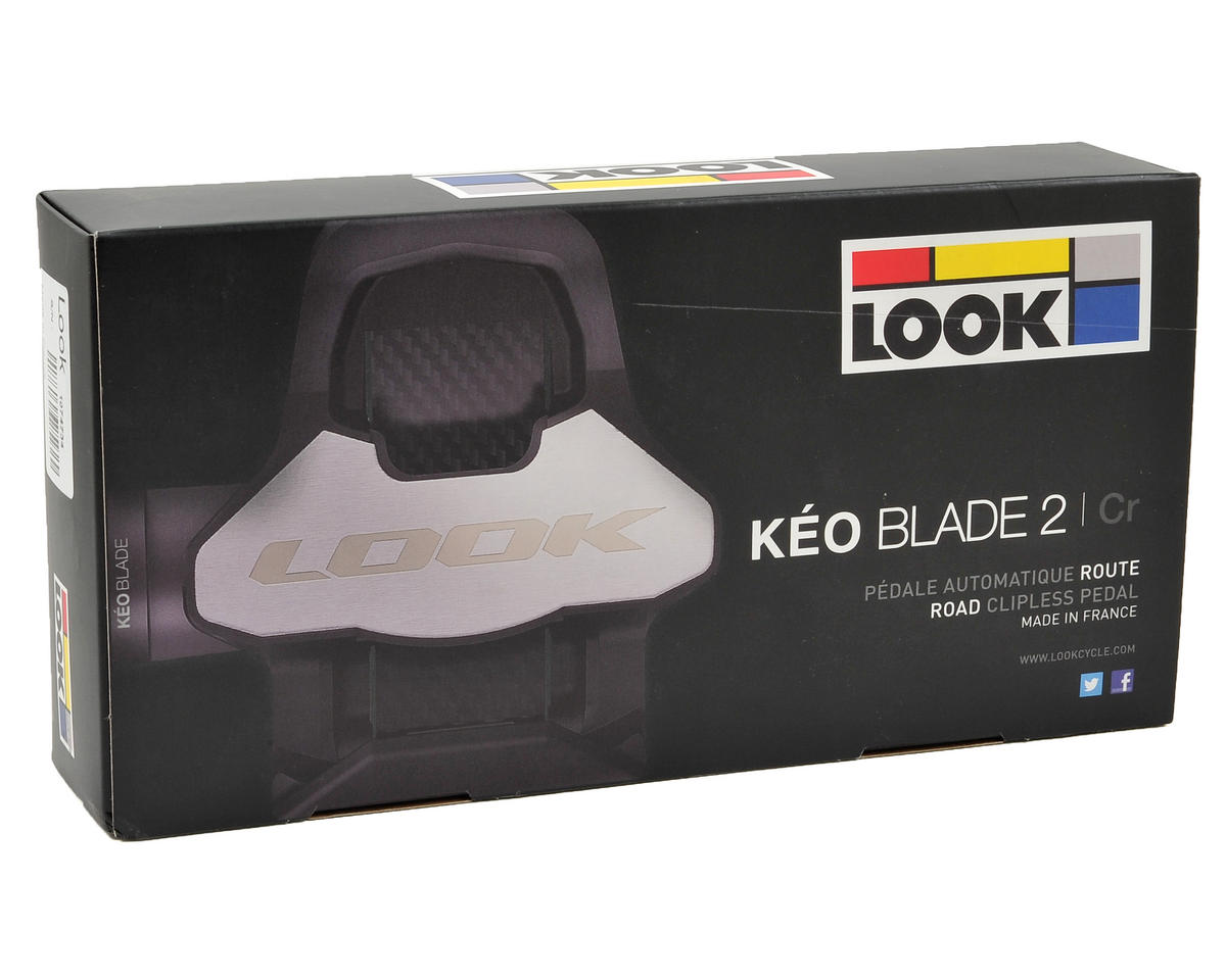 Look Keo Blade 2 Chromoly Pedal (12Nm Tension) (Black/Gray)
