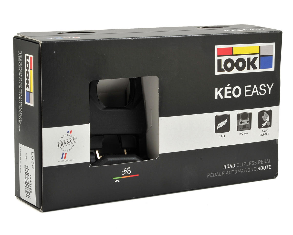 Look Keo Easy Clipless Road Pedals (Black)
