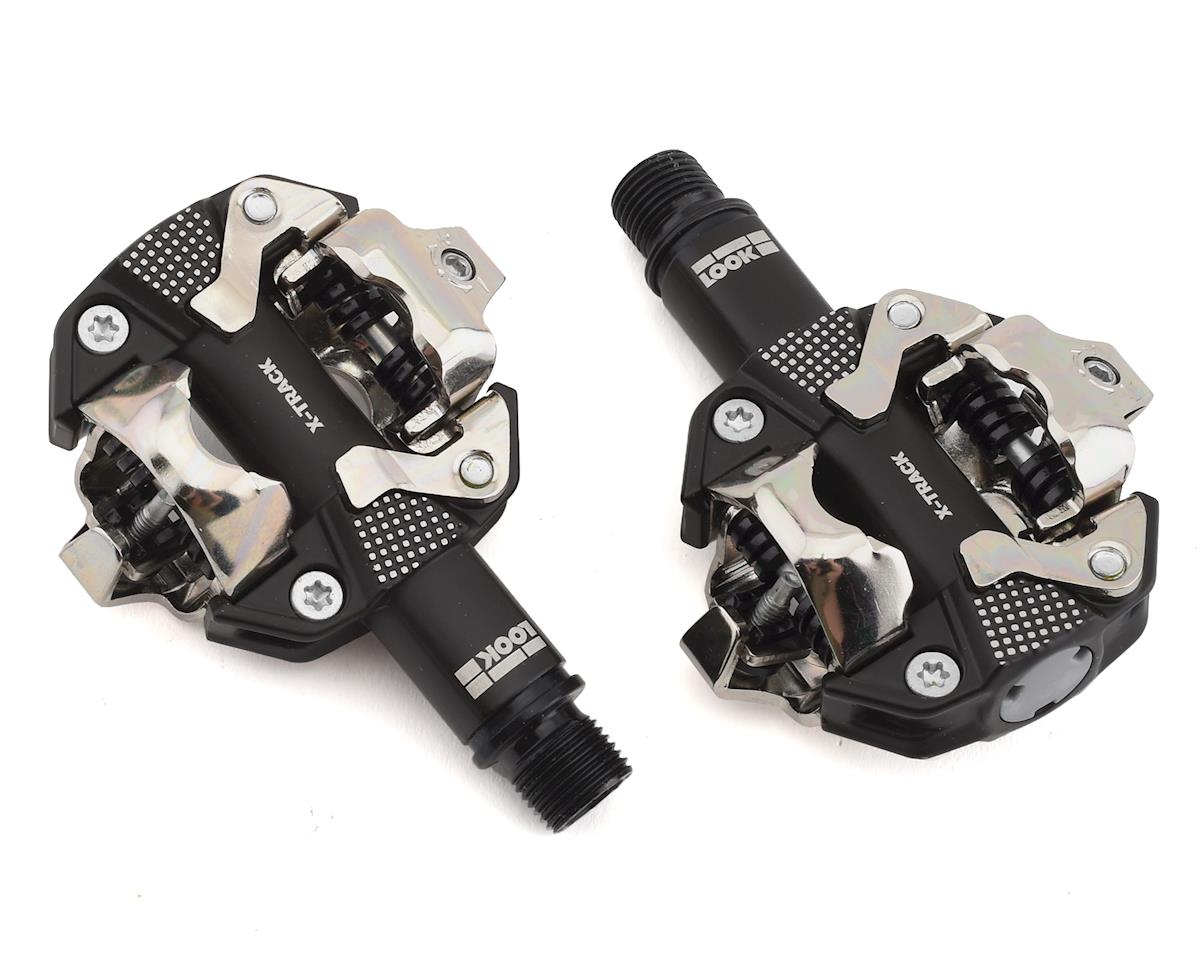 Bike Pedal Clips >> Look X Track Clipless Pedals Grey 00018220 Parts Performance