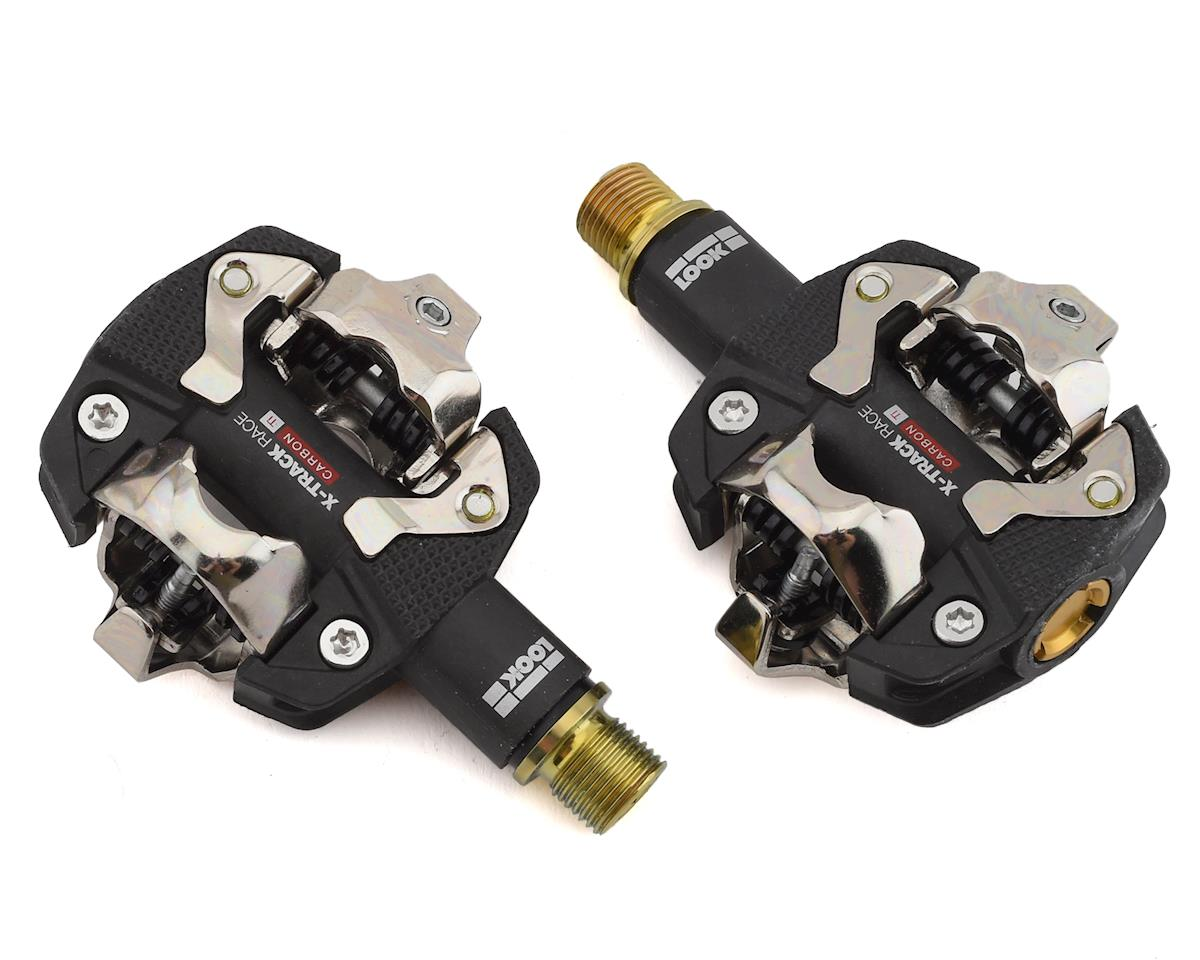 Look X-Track Race Carbon Ti Pedals (Black) (Carbon Body/Titanium Axle)