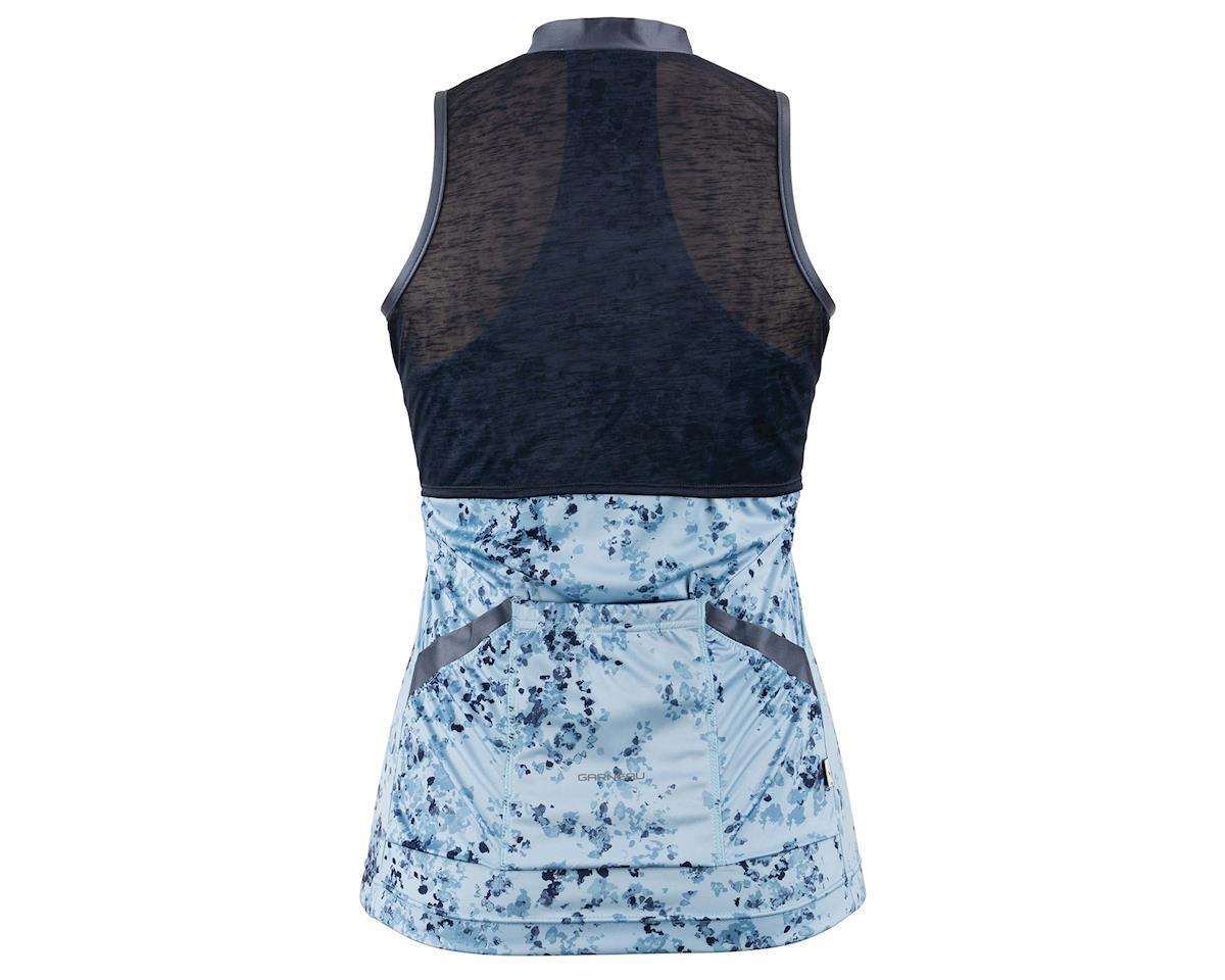 Image 2 for Louis Garneau Women's Art Factory Sleeveless Zircon Jersey (Blue) (M)
