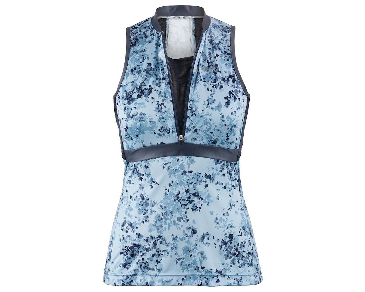 Image 3 for Louis Garneau Women's Art Factory Sleeveless Zircon Jersey (Blue) (M)