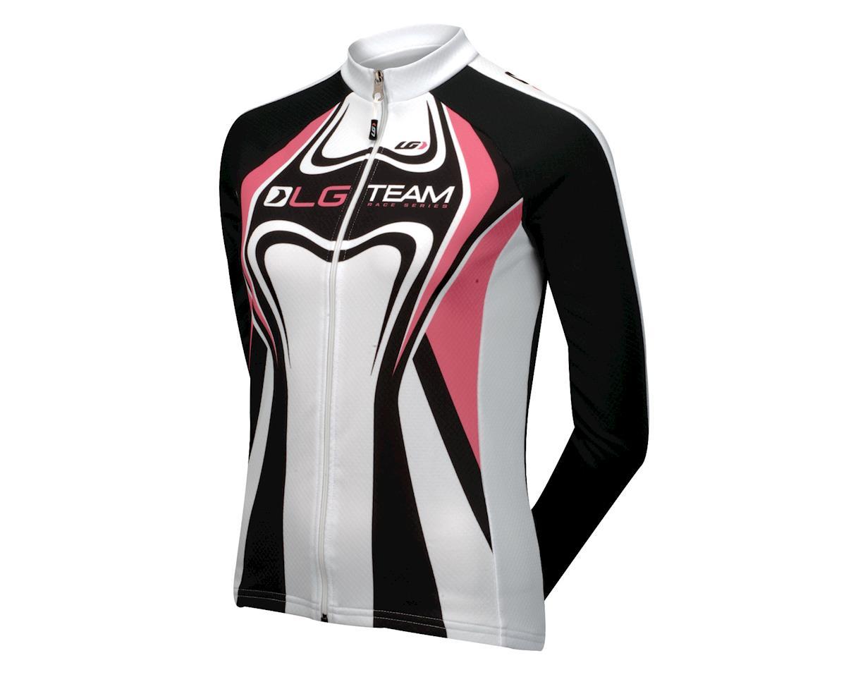 Louis Garneau Women's Equipe Long Sleeve Jersey (Pink)