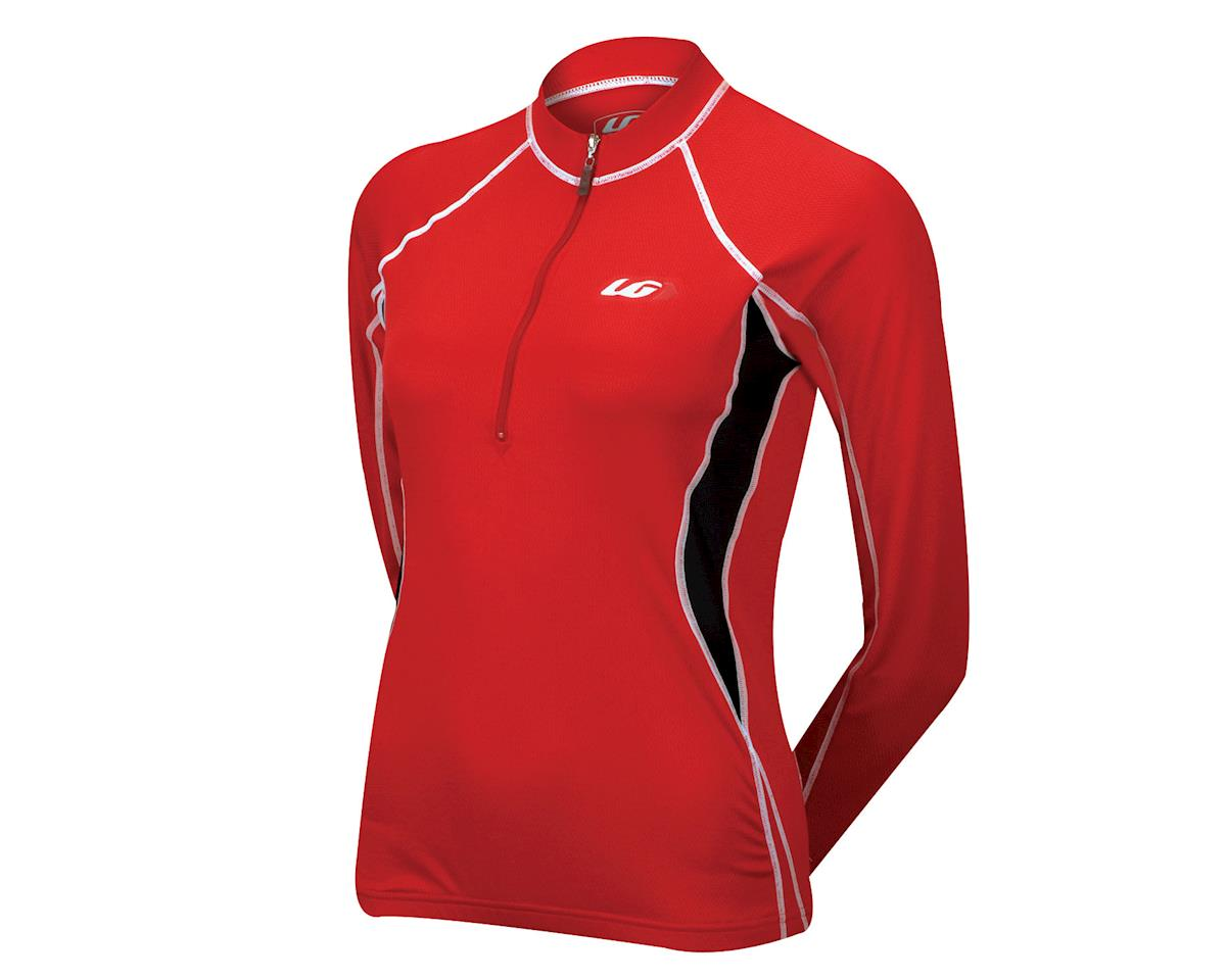 Louis Garneau Women's Legacy II Long Sleeve Jersey - Performance Exclusive (Red)