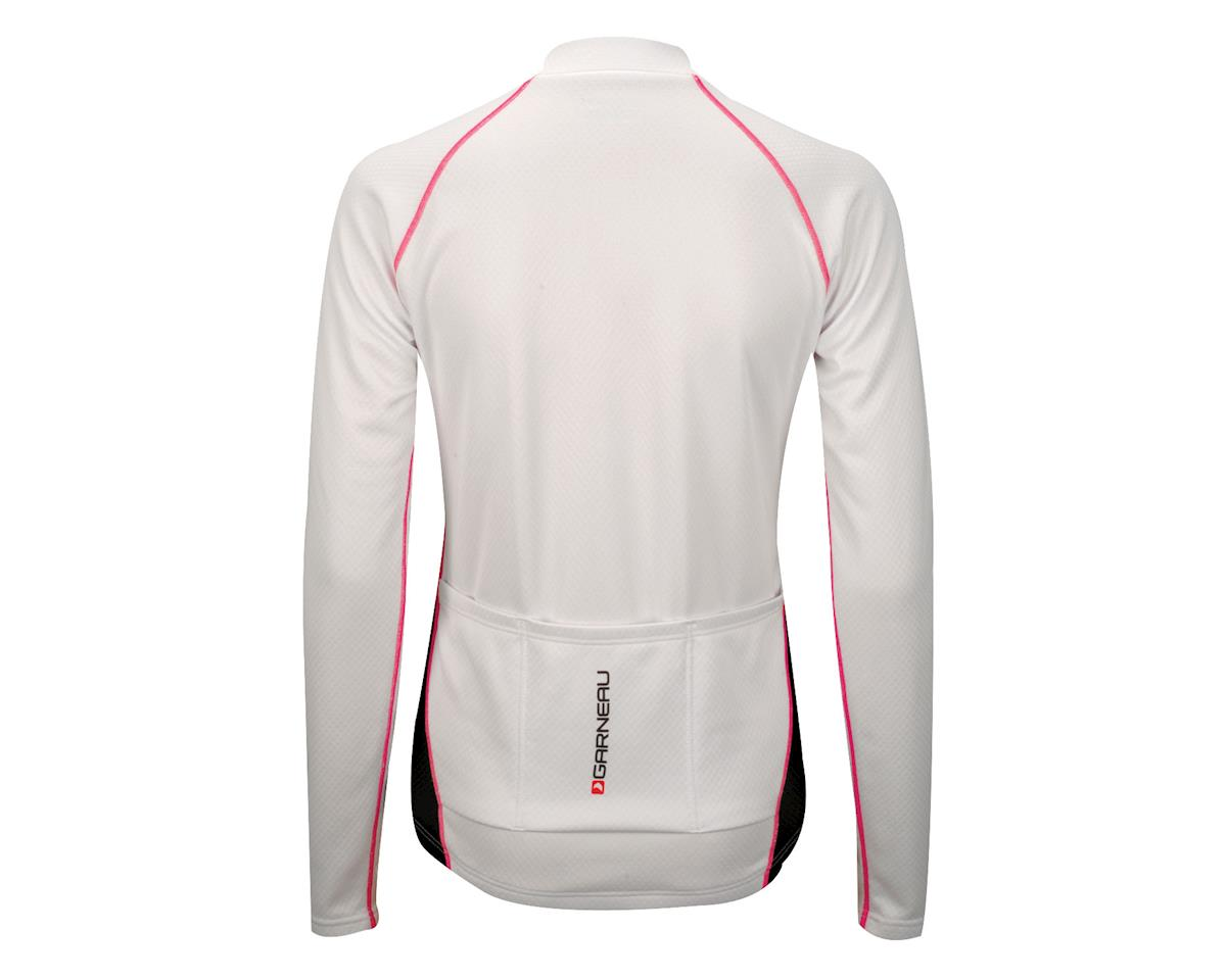 Louis Garneau Women's Thermal II Long Sleeve Jersey - Performance Exclusive (White)