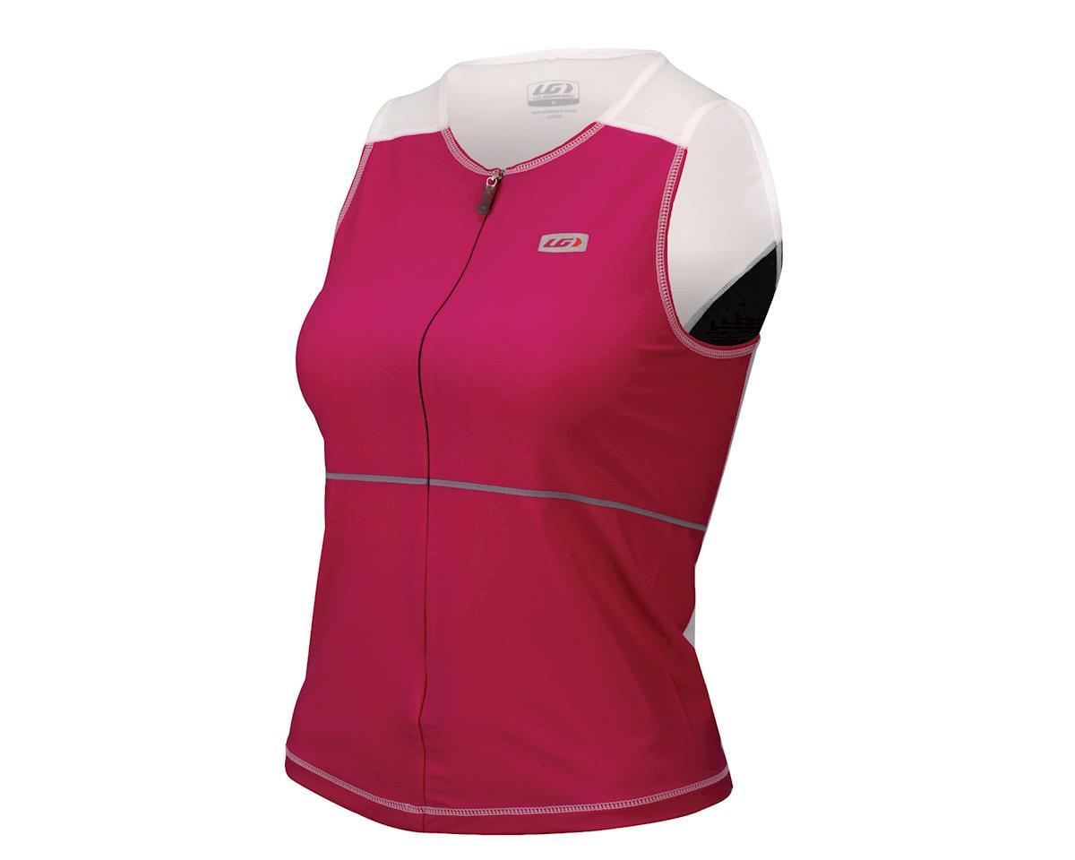 Louis Garneau Women's Comp Tri Tank (Pink)
