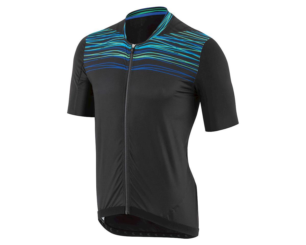 Louis Garneau Prime Engineer Cycling Jersey (Black/Blue/Green) (M)