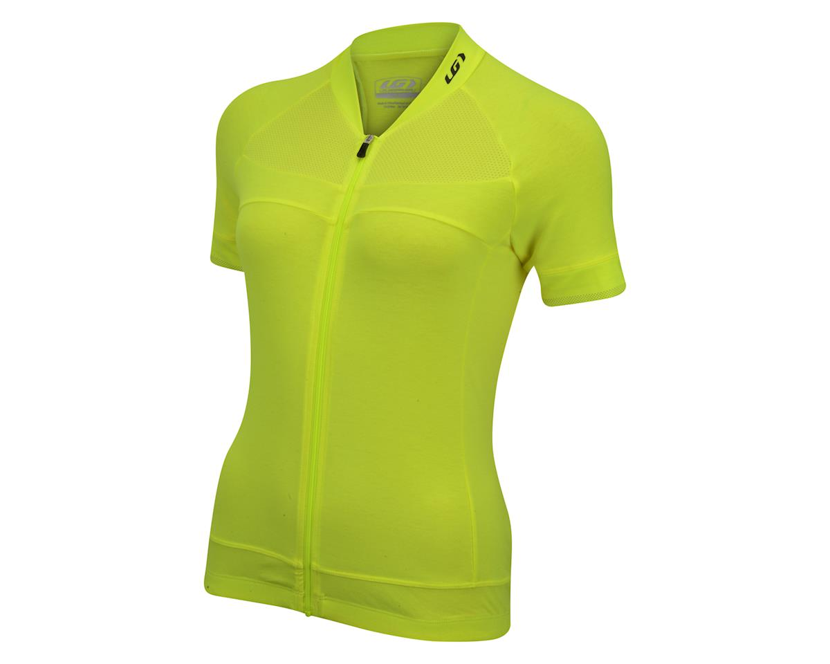Louis Garneau Women's Beeze 2 Short Sleeve Jersey (Bright Yellow)