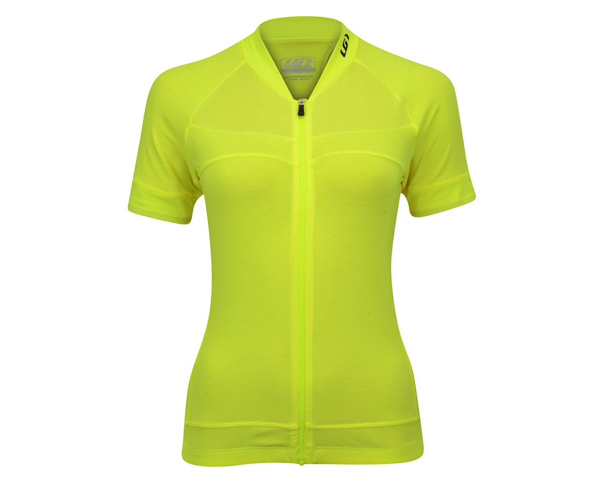Louis Garneau Women's Beeze 2 Short Sleeve Jersey (Bright Yellow) (S)