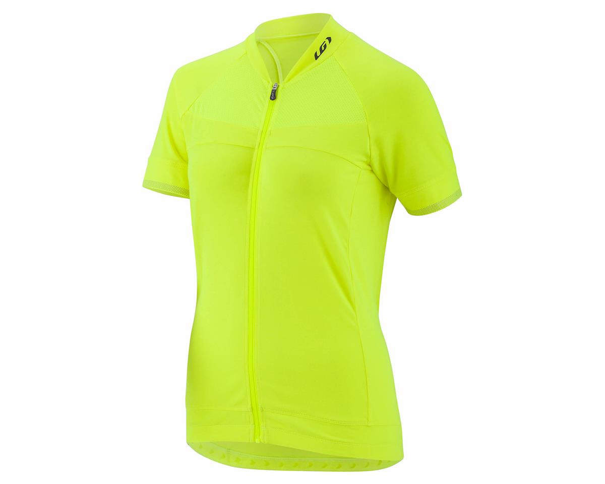 Louis Garneau Women's Beeze 2 Short Sleeve Jersey (Bright Yellow) (2XL)