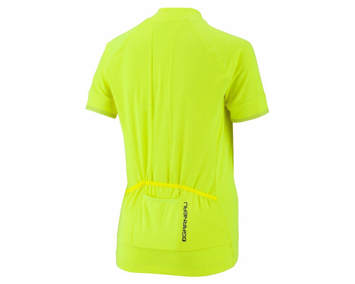 Louis Garneau Women's Beeze 2 Short Sleeve Jersey (Bright Yellow) (2XL)