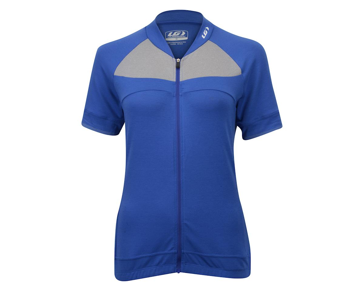 Louis Garneau Women's Beeze 2 Cycling Jersey (Dazzling Blue) (XL)