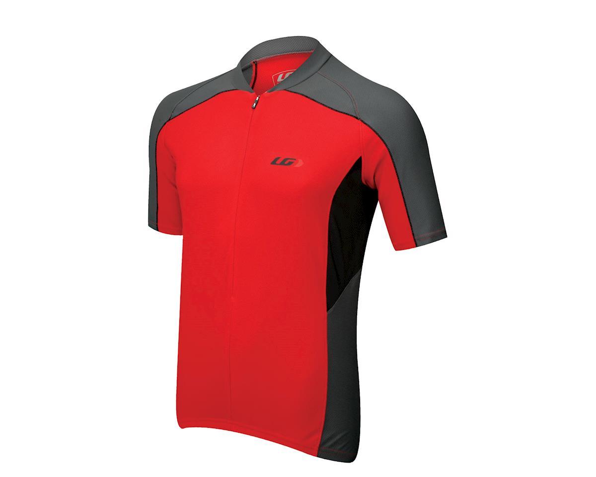 Louis Garneau Mistral Vent Short Sleeve Jersey (Matte Grey/Red) (Xxxlarge)
