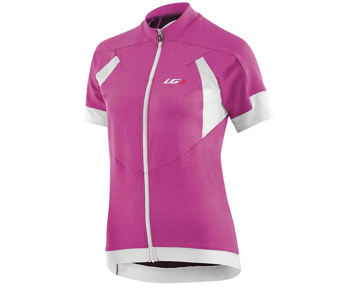 Louis Garneau Women's Icefit Short Sleeve Jersey (Candy Purple) (L)