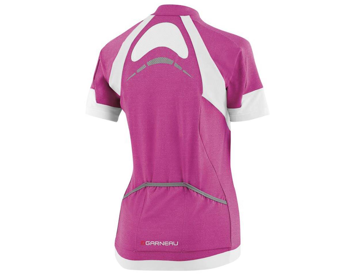 Image 2 for Louis Garneau Women's Icefit Short Sleeve Jersey (Candy Purple) (S)