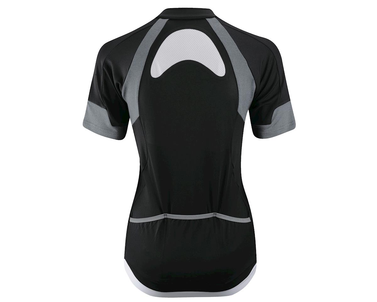 Louis Garneau Women's IceFit Short Sleeve Jersey (Black/White) (Xxlarge)