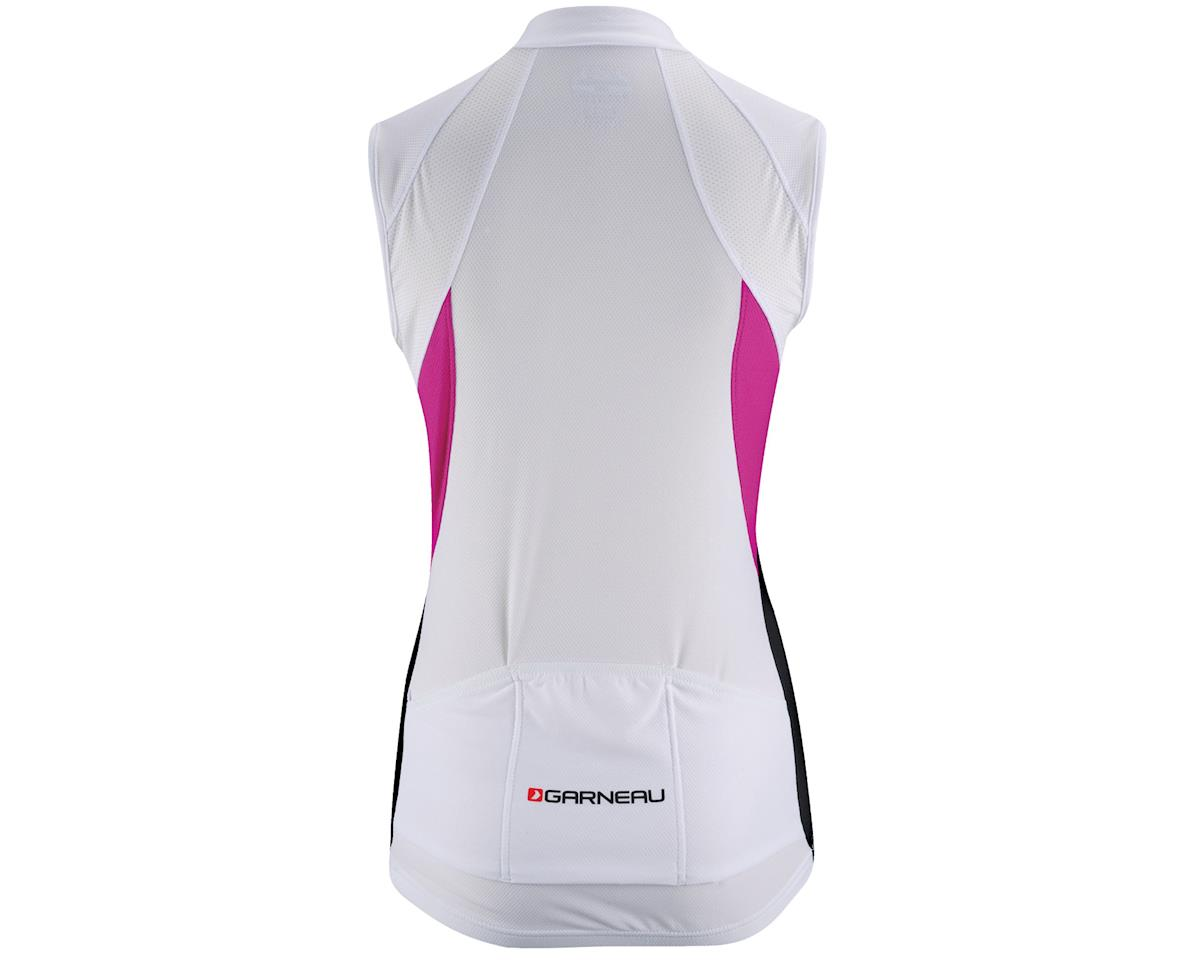 Louis Garneau Women's Beeze Vent Cycling Jersey (White/Pink/Black)