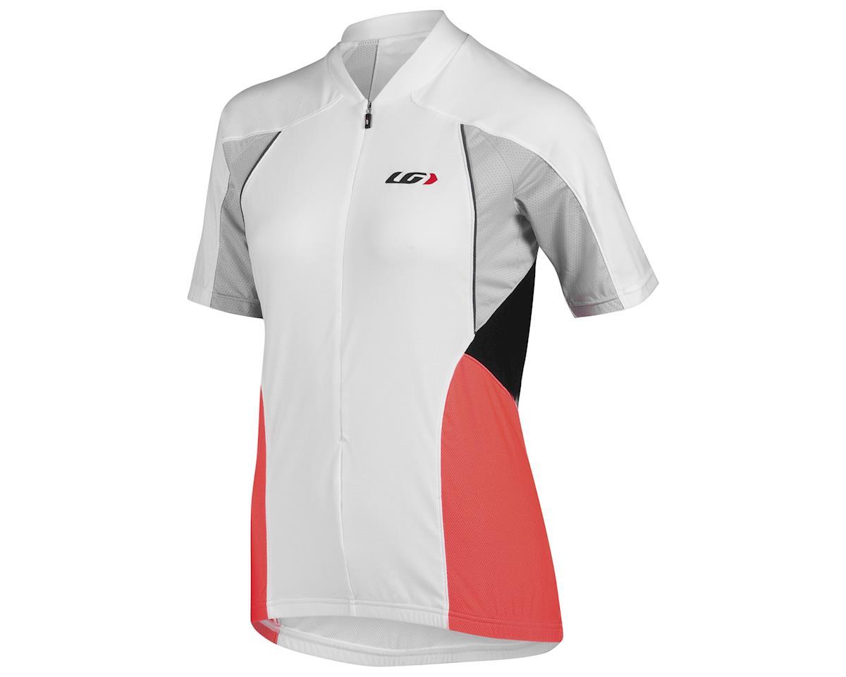 Louis Garneau Women's Beeze Vent Cycling Jersey (White/Coral)