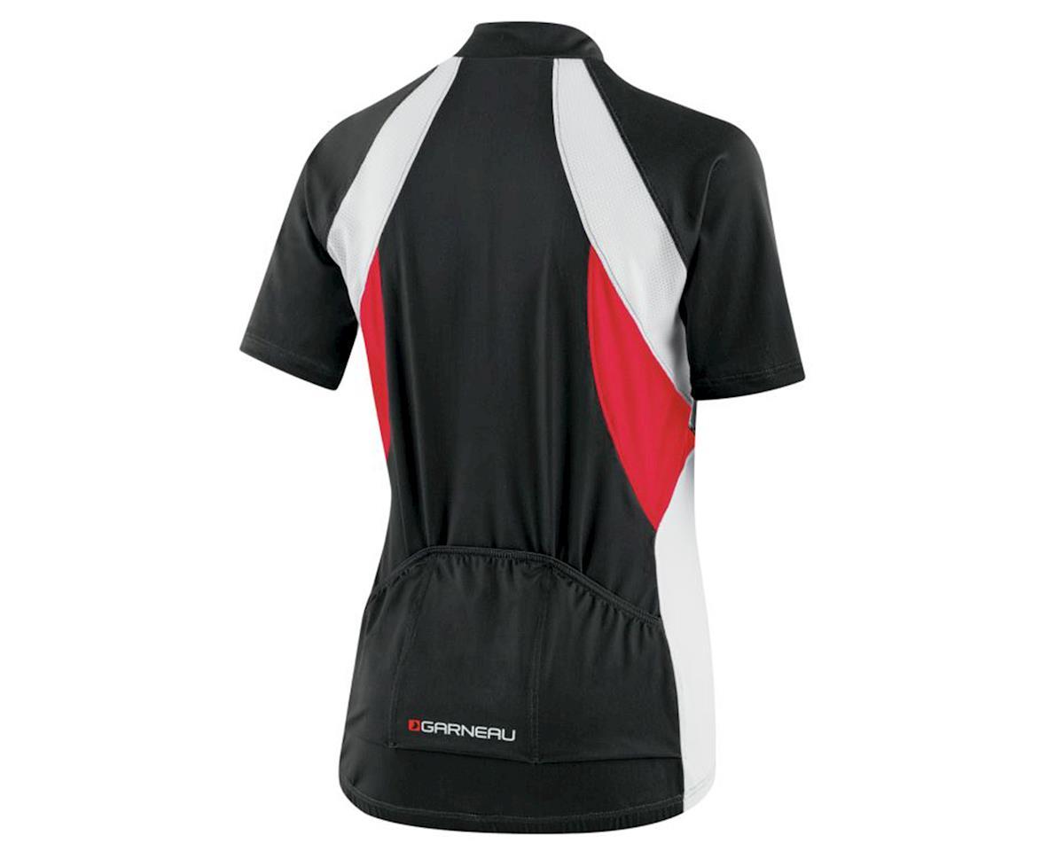 Louis Garneau Women's Beeze Vent Cycling Jersey (Black/Red/White) (2XL)