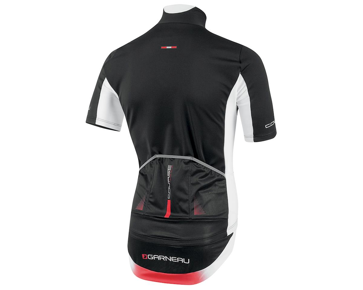 Louis Garneau Course Power Shield Cycling Jersey (Black/White) (L)