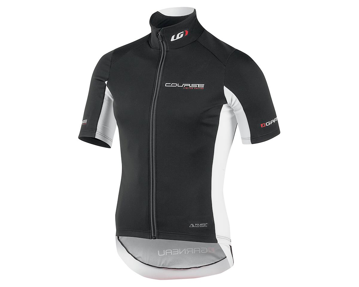 Louis Garneau Course Power Shield Cycling Jersey (Black/White) (XL)