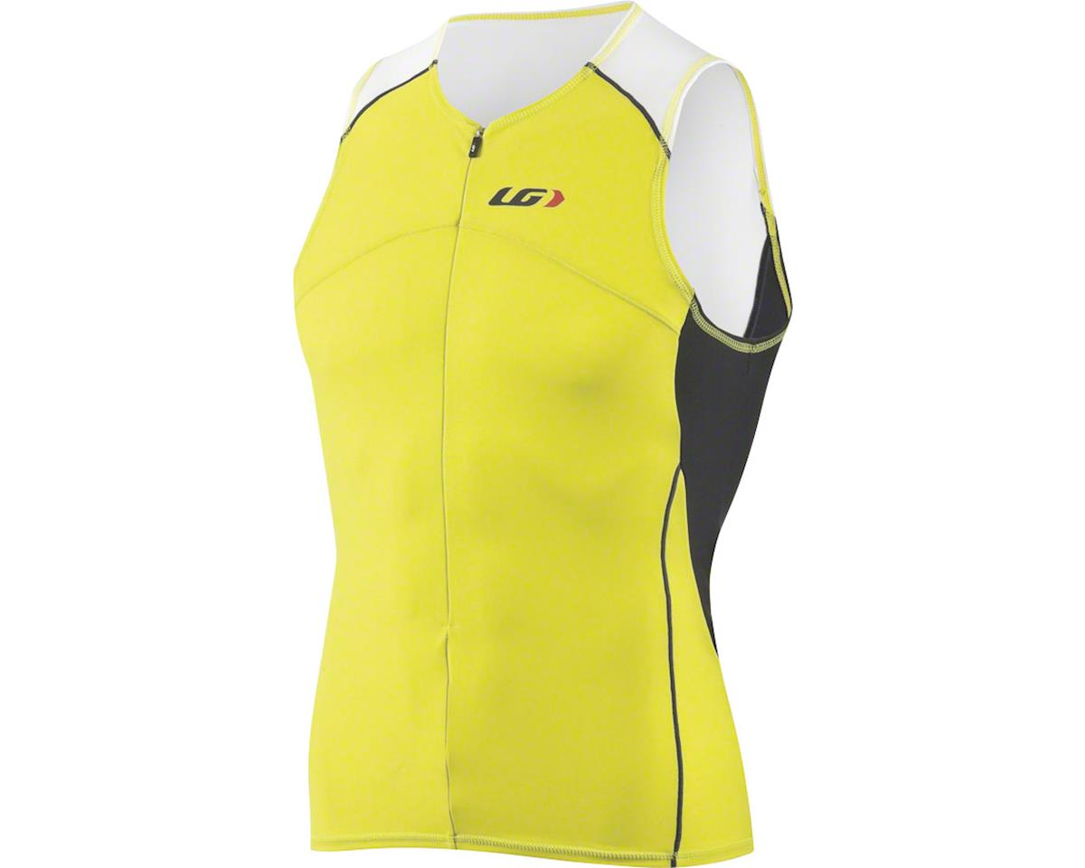 Louis Garneau Comp Sleeveless Tri Top (Sulphur Spring)