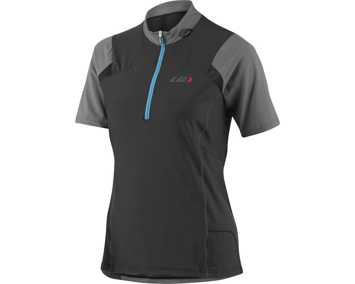 Louis Garneau Epic Women's MTB Jersey: Black/Gray LG