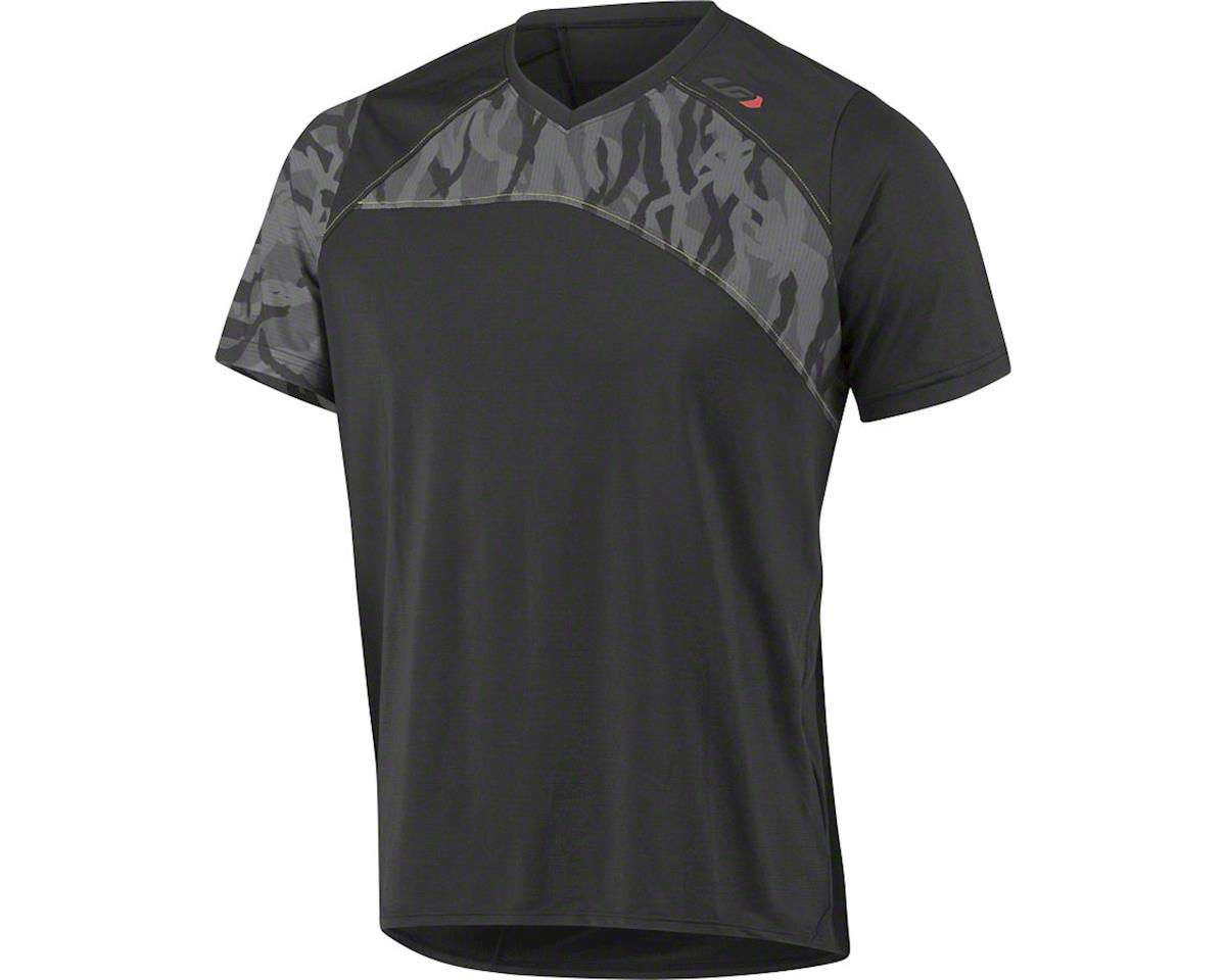 Louis Garneau Andes MTB Short Sleeve T-Shirt: Black/Gray XL