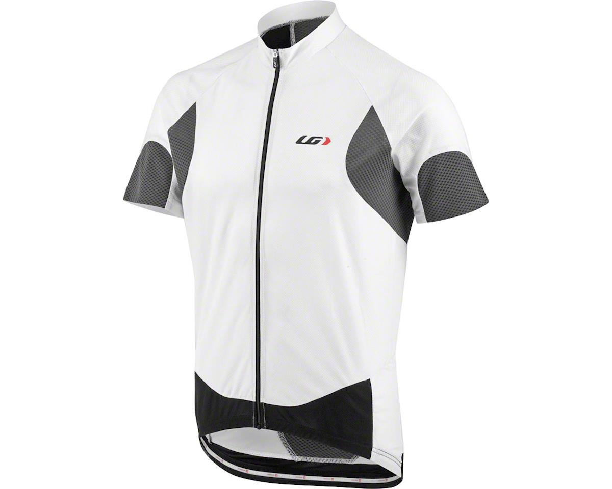 Louis Garneau Metz Lite Men's Jersey (White/Black) (M)