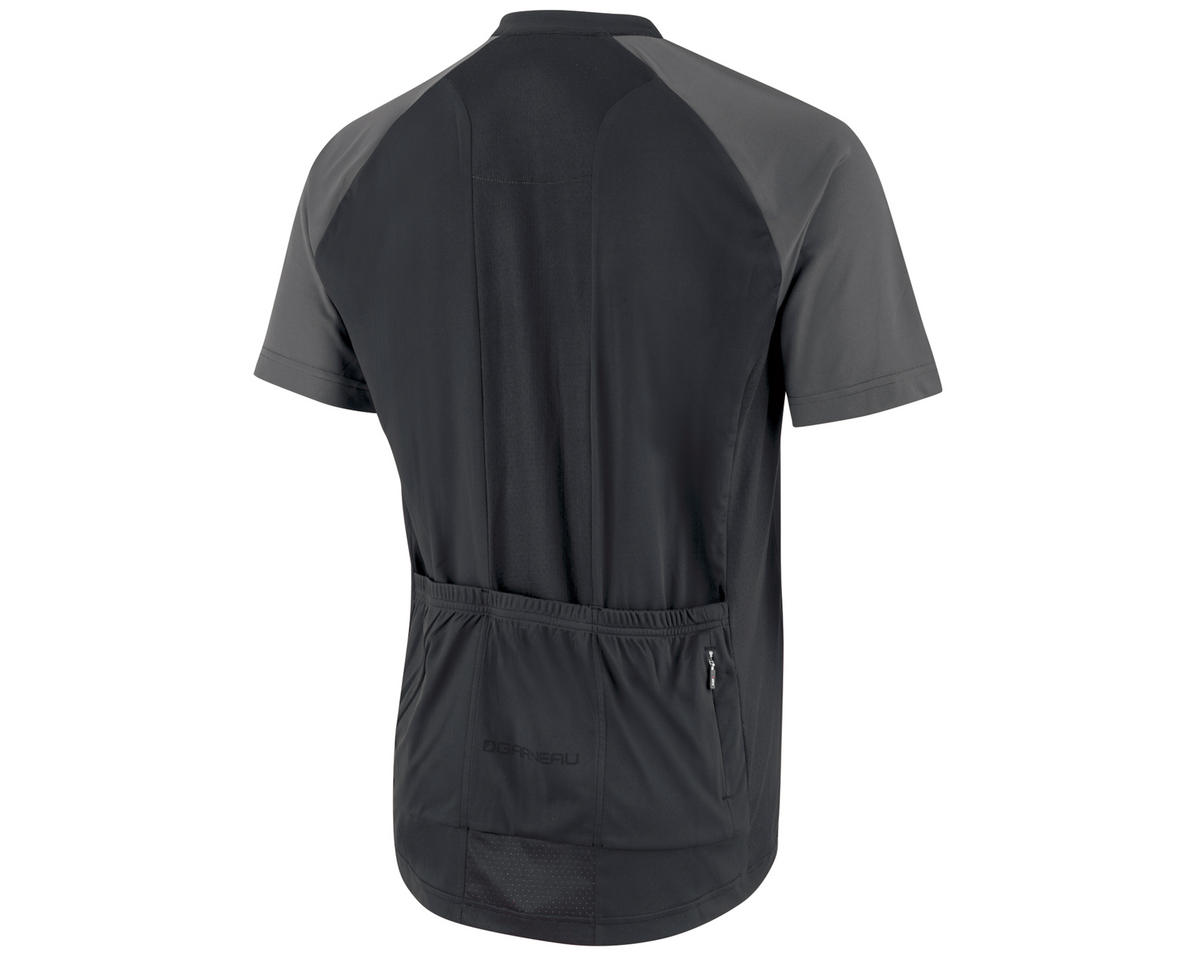Louis Garneau Kitchell Cycling Jersey (Black/Gray)