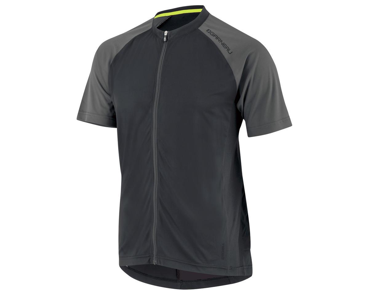Louis Garneau Kitchell Cycling Jersey (Black/Gray) (XL)