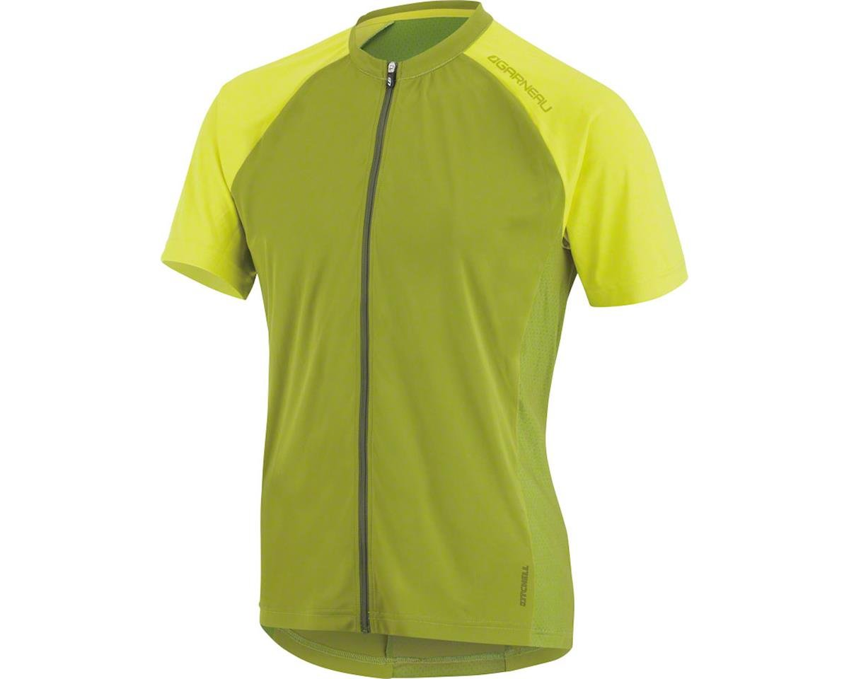 Louis Garneau Kitchell Men's MTB Jersey: Woodbine Green MD