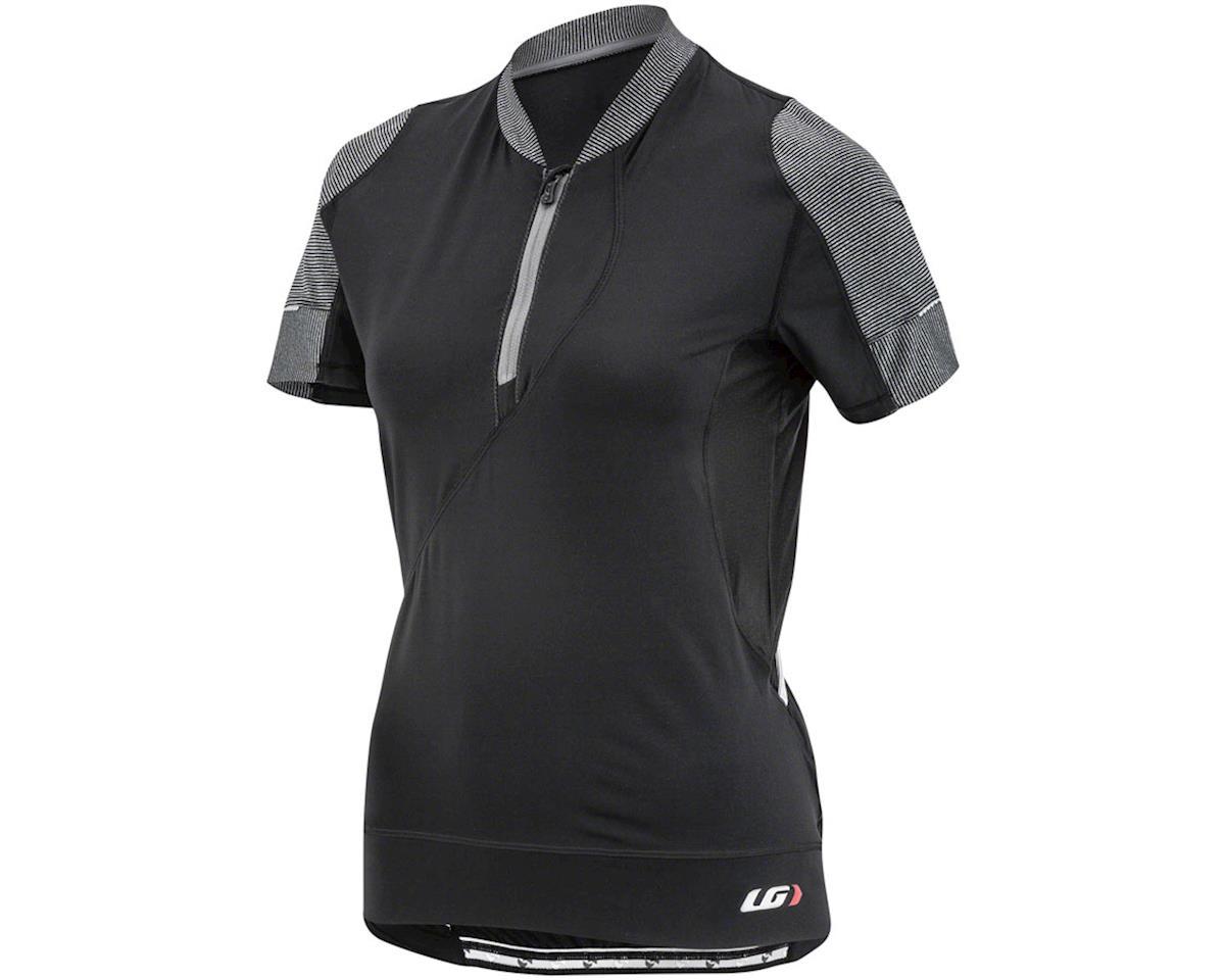 Louis Garneau Women's Gloria Jersey (Black/Grey) (XL)