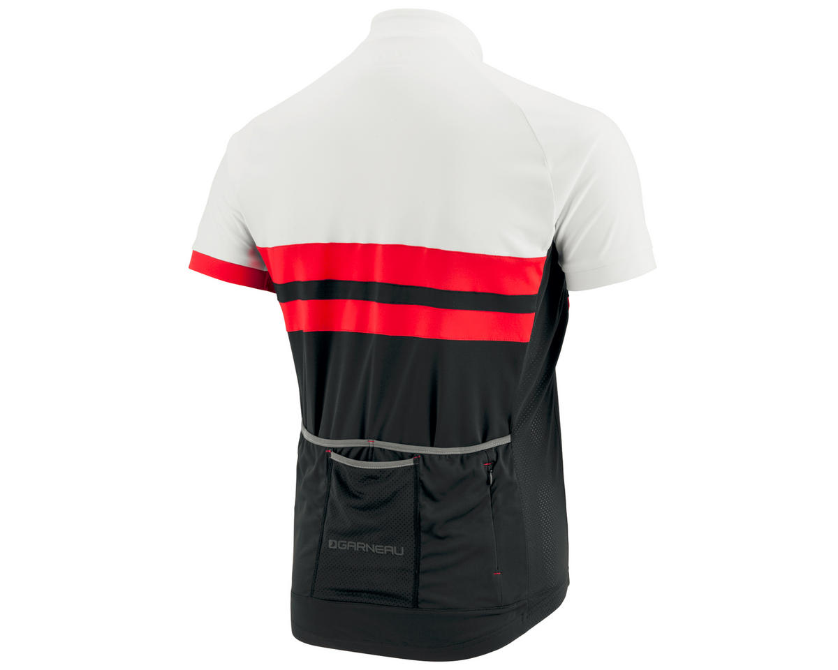Louis Garneau Evans Classic Jersey (Black/Red/White)