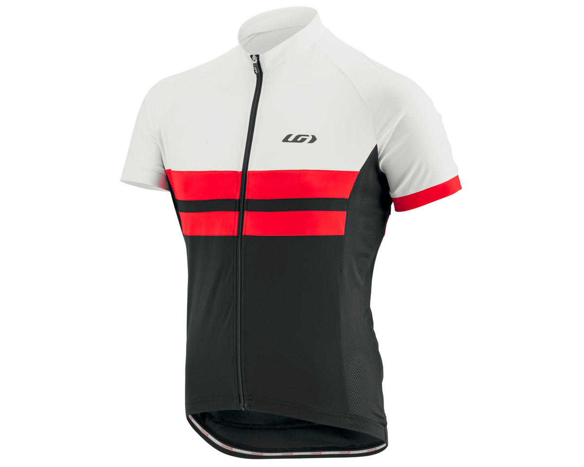 Louis Garneau Evans Classic Jersey (Black/Red/White) (M)