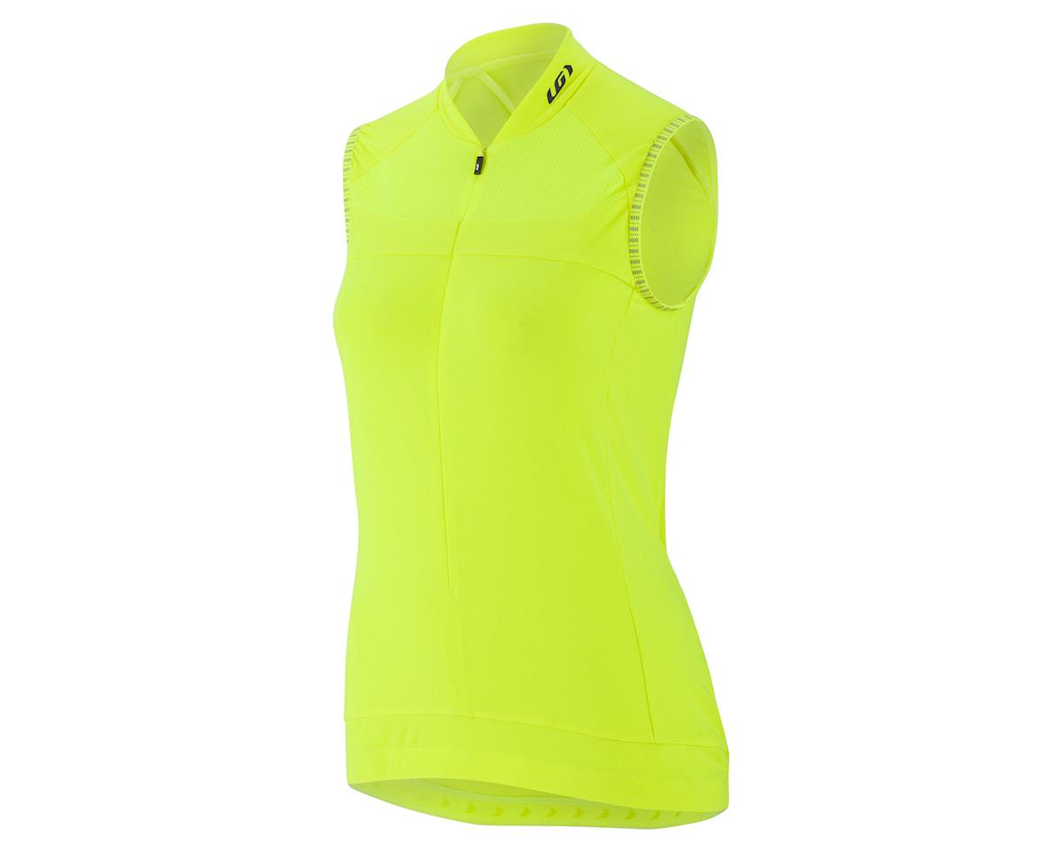 Louis Garneau Women's Beeze 2 Jersey (Bright Yellow) (XS)