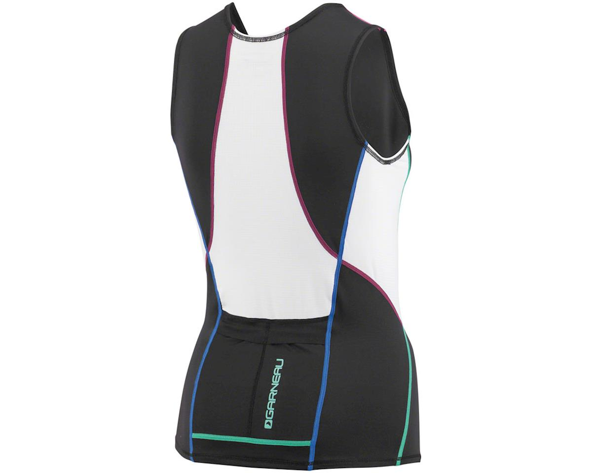 Louis Garneau Women's Tri Comp Sleeveless  Tri Top (Multi Color) (S)