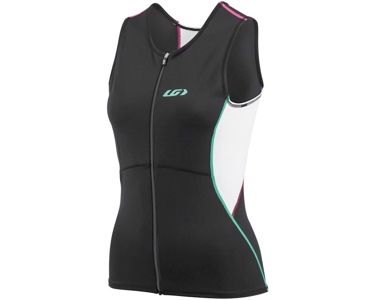 Louis Garneau Women's Tri Comp Sleeveless  Tri Top (Multi Color) (XL)