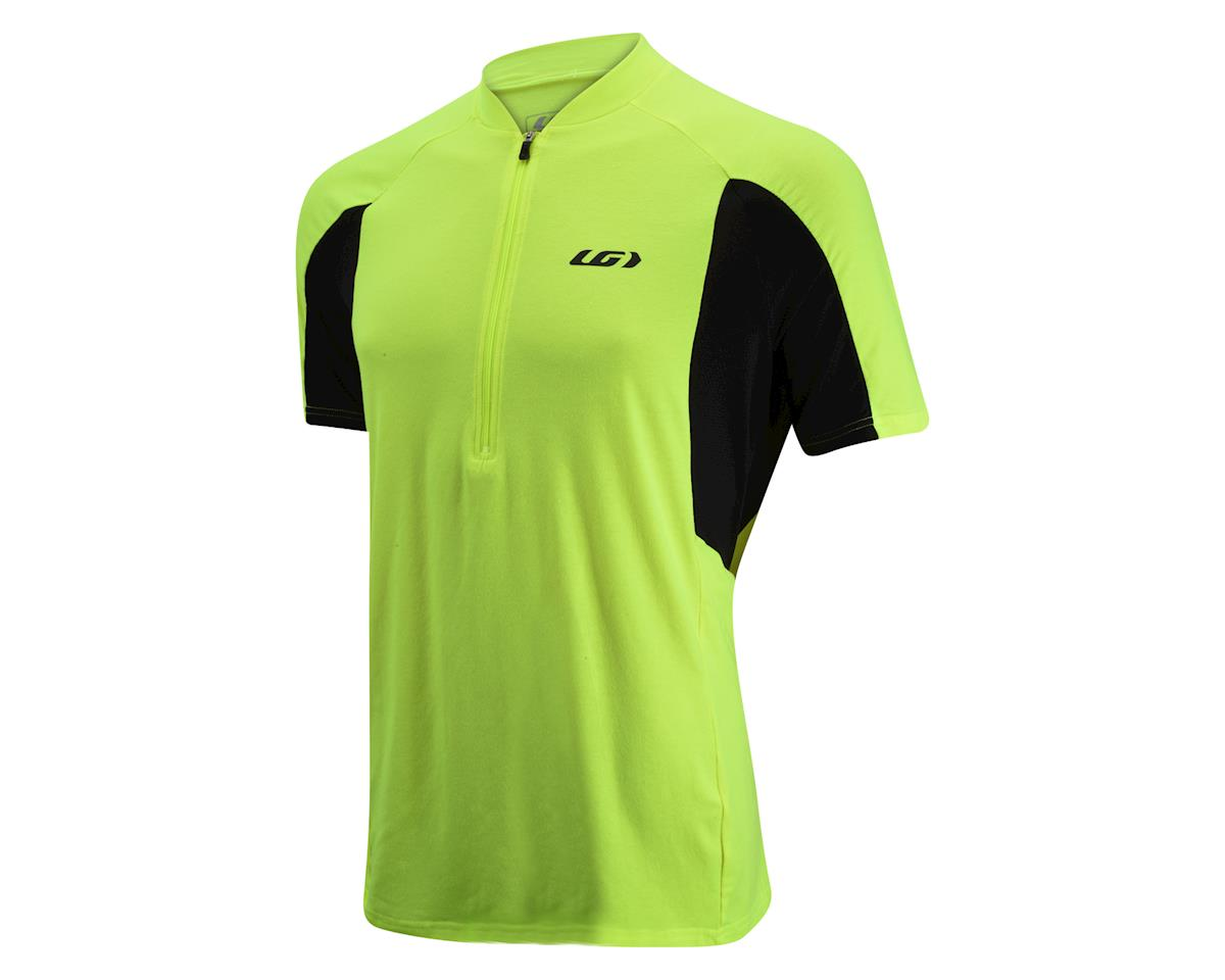 Louis Garneau Connection Jersey (Yellow/Black) (L)
