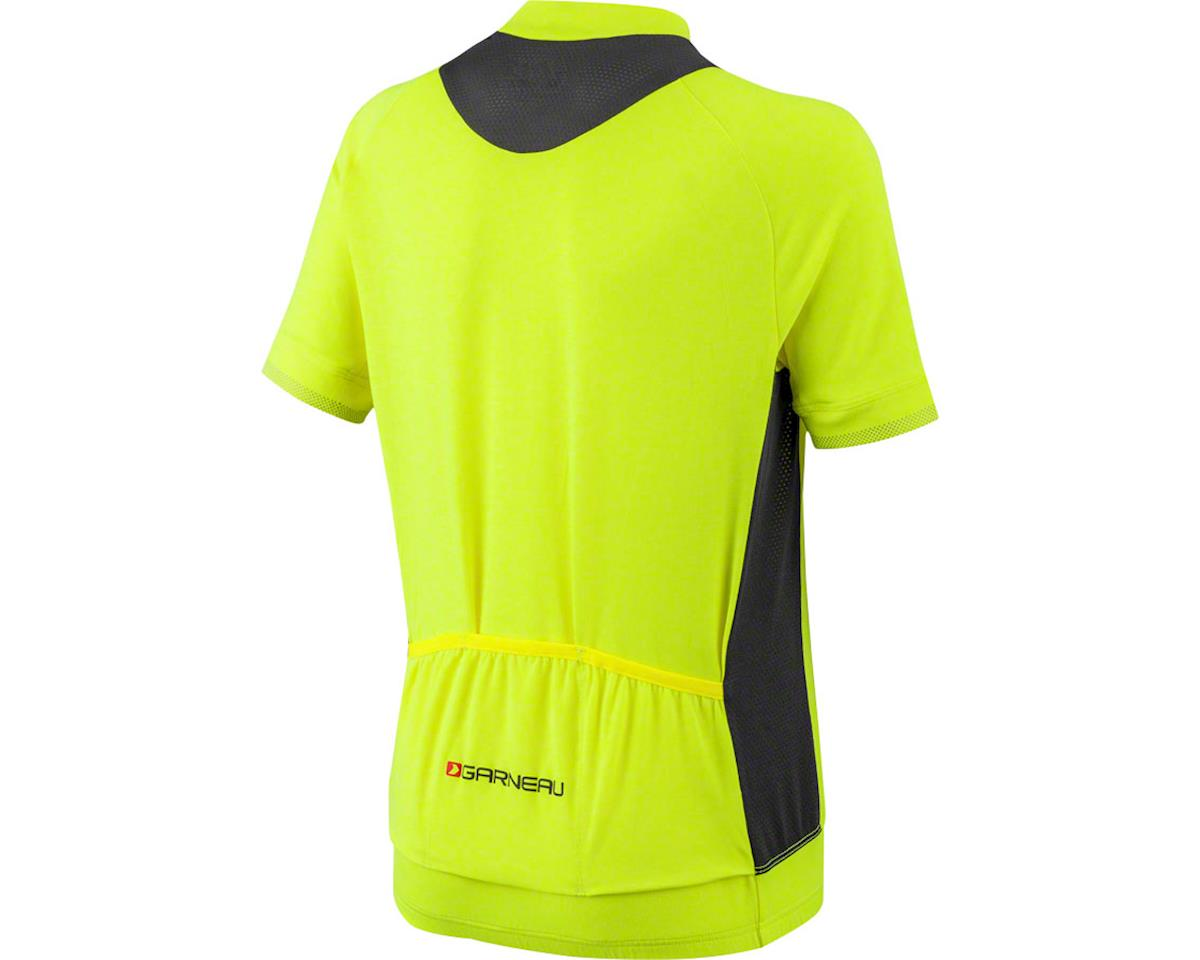 Louis Garneau Lemmon Junior Jersey (Yellow/Black) (Kids S)