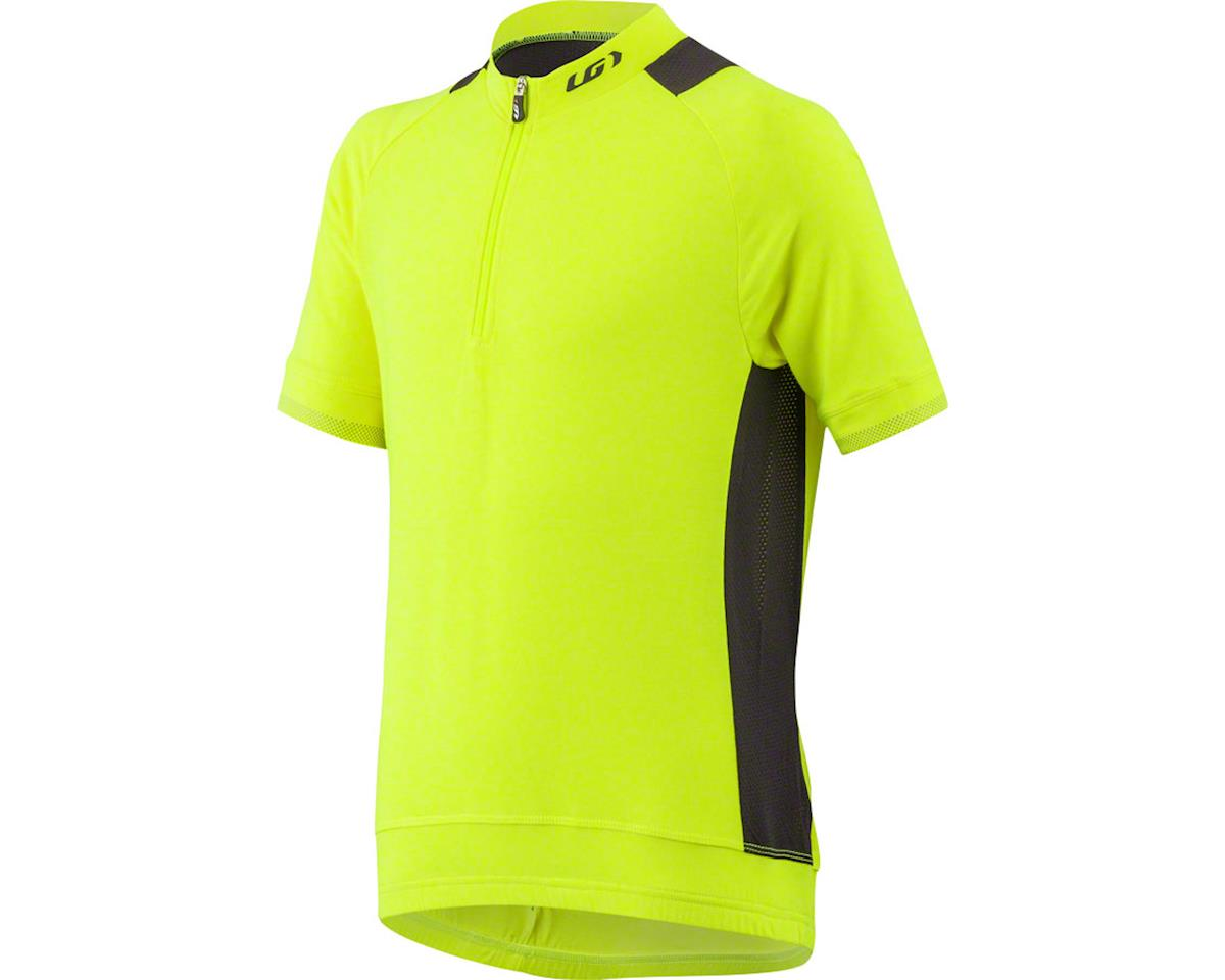 Louis Garneau Lemmon Junior Jersey (Yellow/Black) (Kids XL)