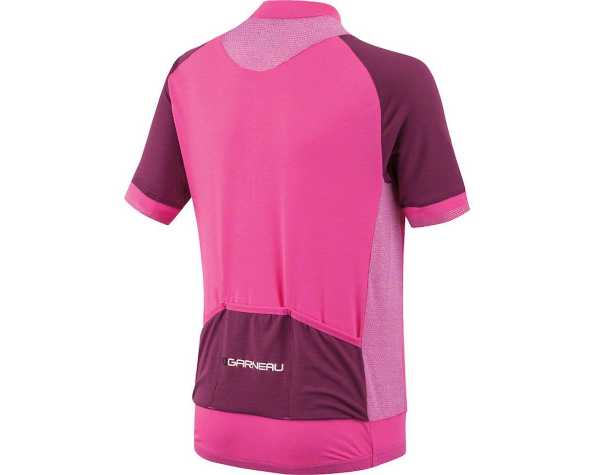 Louis Garneau Lemmon Junior Jersey (Pink Glow Magenta Purple) (Kids L)