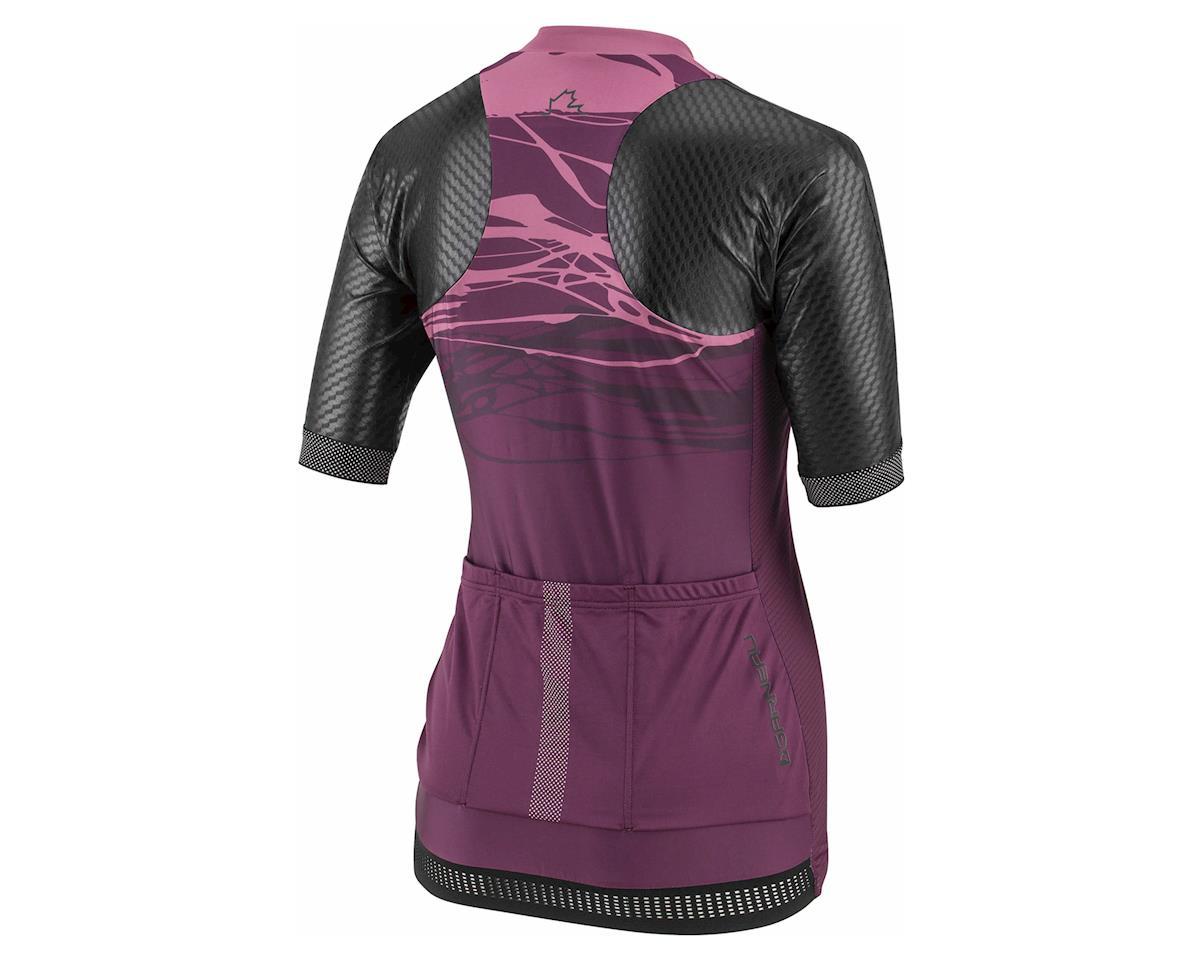 "Louis Garneau Women's Stunner ""Standard Fit"" Jersey (Black/Shiraz) (L)"