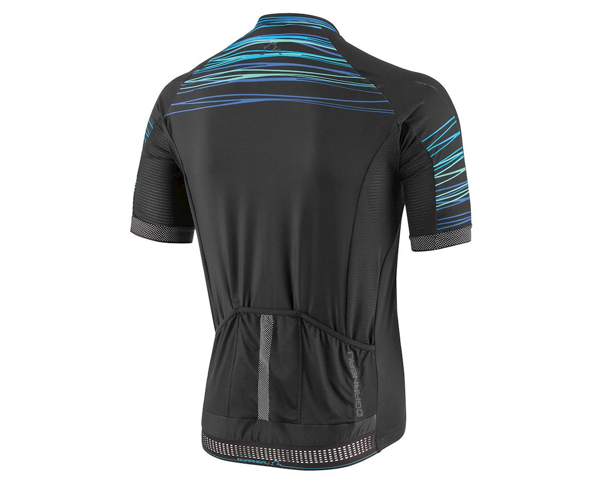 Louis Garneau Elite M2 Cycling Jersey (Black/Blue/Green) (M)