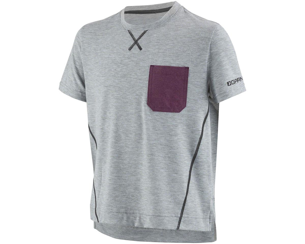 Louis Garneau T-Dirt Junior Jersey (Heather Gray) (Kids S)
