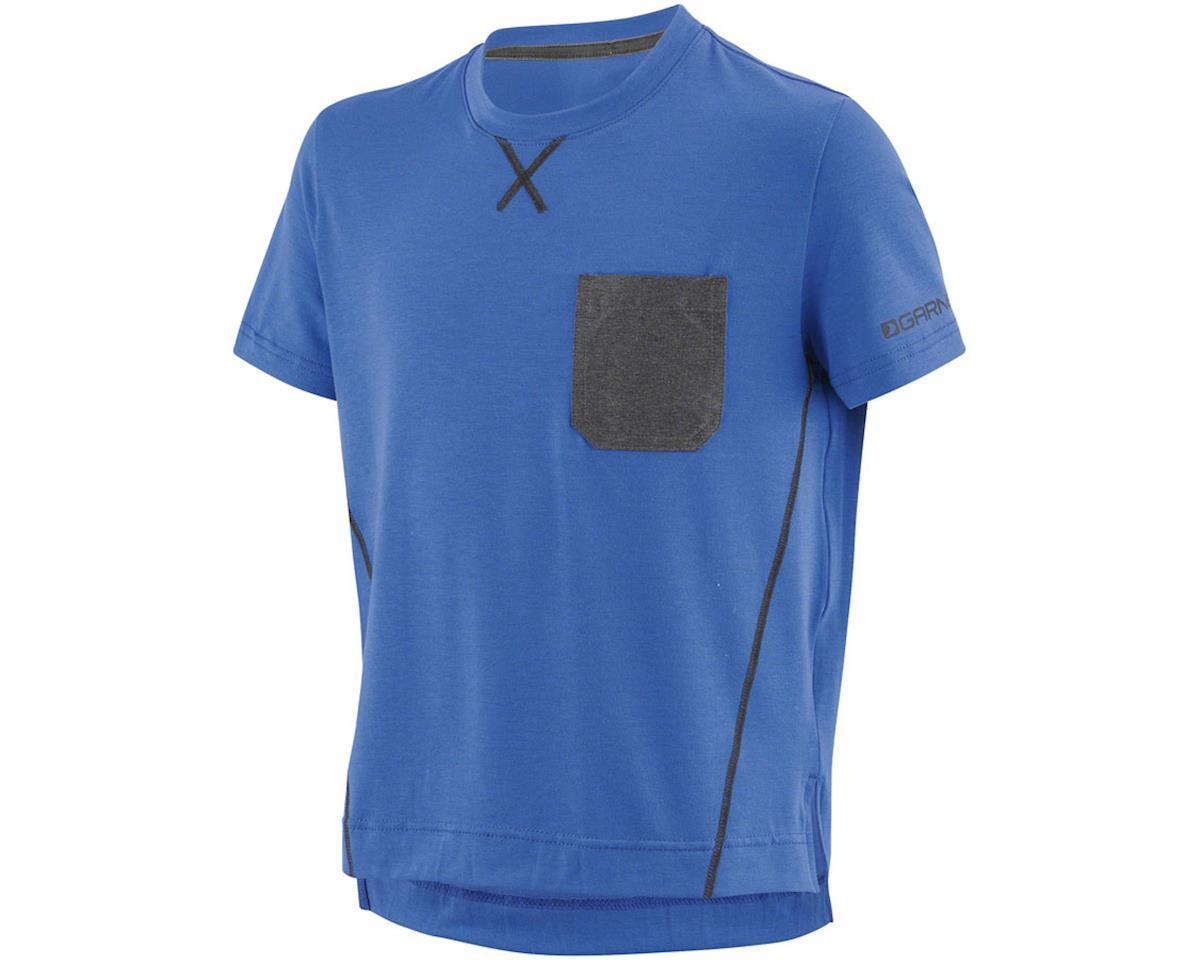 Louis Garneau T-Dirt Junior Jersey (Dazzling Blue) (Kids XL)